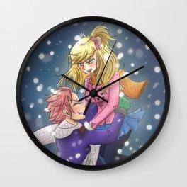 Last Winter Wall Clock