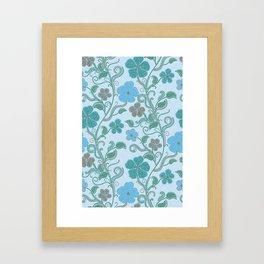 Dotty mosaic pattern Framed Art Print