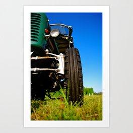 A Day at the Farm Art Print