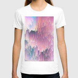 Rainbow Glitches T-shirt