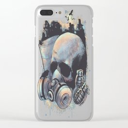 Infection copy Clear iPhone Case