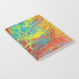 Abstract Rainbow  Notebook