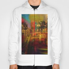 The yellow city of taxis Hoody