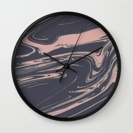 Lost Marble Wall Clock