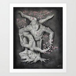 Entangled - Original Art Print