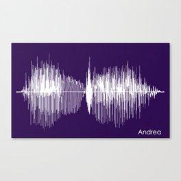 Andrea Canvas Print