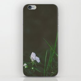 Lonely Flowers 02 iPhone Skin