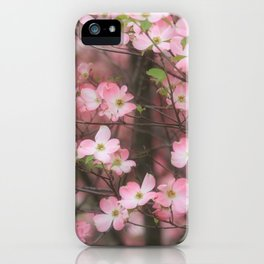 Pink Dogwoods iPhone Case