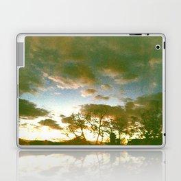 Window sunset Laptop & iPad Skin