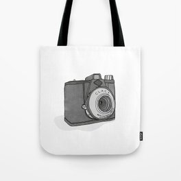 Vintage Analog Camera - Agfa Clack (B&W Edition) Tote Bag