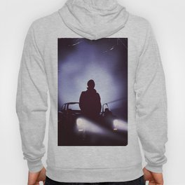 Vintage 80s car poster - the equalizer. Hoody