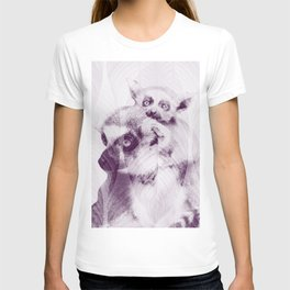 Happy Mother's Day - Lemur - maki catta #decor #society6 #buyart T-shirt