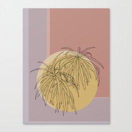 Henkelii Leaves Autumn Canvas Print