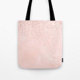 Rose Gold Pink Mermaid Sparkles III Tote Bag