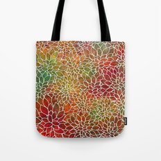 Floral Abstract 15 Tote Bag