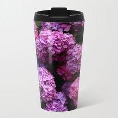 Spring Hydrangeas 4 Metal Travel Mug