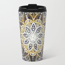 Glowing Mandala Travel Mug