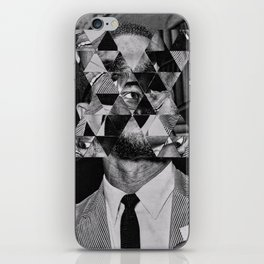 Malcolm x iPhone Skin