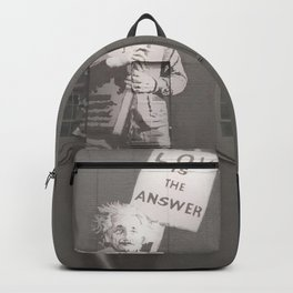 Einstein knows Backpack