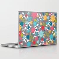 jane eyre Laptop & iPad Skins featuring Jane by Lotsa Presence Studio