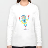 super hero Long Sleeve T-shirts featuring Super Hero 5 by La Lanterne