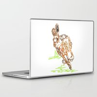 hare Laptop & iPad Skins featuring Hare by Simon Boulton