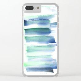 Frozen Summer Series 157 Clear iPhone Case