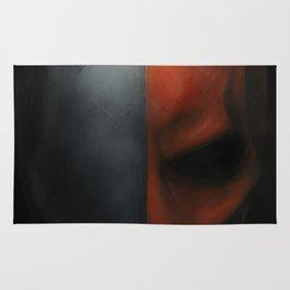Deathstroke -#2 2017 Original Painting Rug