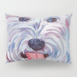 The Westie Kirby Dog Portrait Pillow Sham