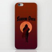 ninja iPhone & iPod Skins featuring NINJA by NENE W