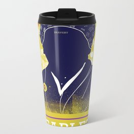 FEARLESS: For Freedom Metal Travel Mug