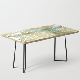 Fractured Gold Coffee Table