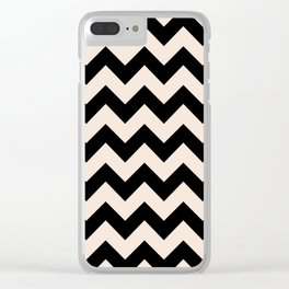 Twin Zig Clear iPhone Case