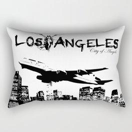 Los Angeles: City of Angels Rectangular Pillow