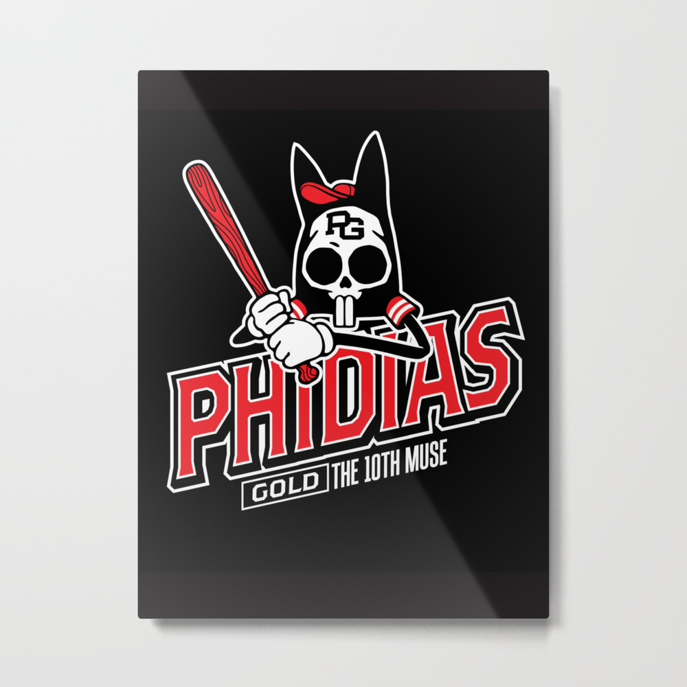The Tenth Inning Metal Print by Phidiasgold MTP953947