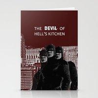 daredevil Stationery Cards featuring Daredevil by amyskhaleesi