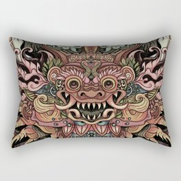 Bali Smile Rectangular Pillow