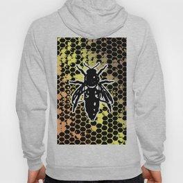 Geometrical Honeycomb & Bee Hoody