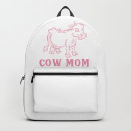 Cow Mom Backpack