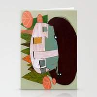 camping Stationery Cards featuring Camping by Arrolynn