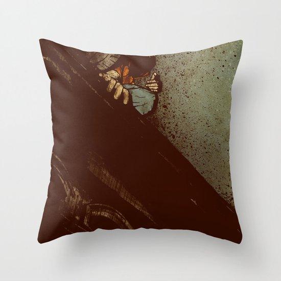 Waiting (2012 Version) Throw Pillow