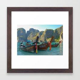 Maya Bay Framed Art Print