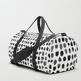 Watercolor Dots Duffle Bag