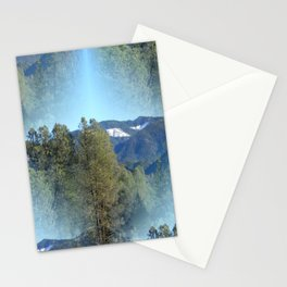 In the mountains... Stationery Cards