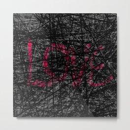 love entangled Metal Print