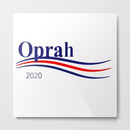 Oprah 2020 Metal Print