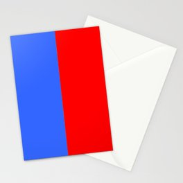 Flag of Paris 2 Stationery Cards