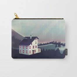 Castle in the Mountains Carry-All Pouch