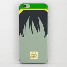Toph Bei Fong iPhone & iPod Skin