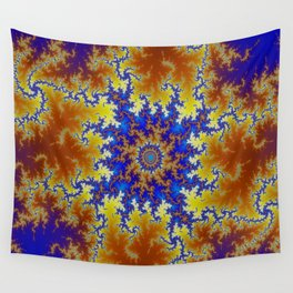 Fractal Checkerboard Wall Tapestry